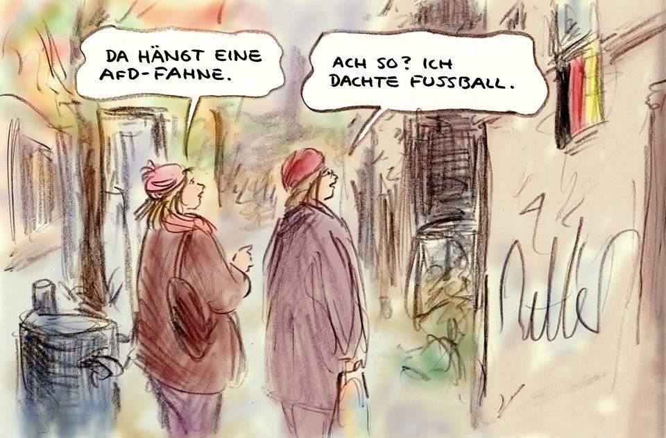 AfD-Fahne
